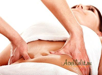 ручной массаж против целлюлита