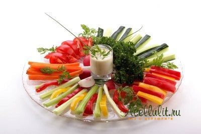Овощной коктейль против целлюлита