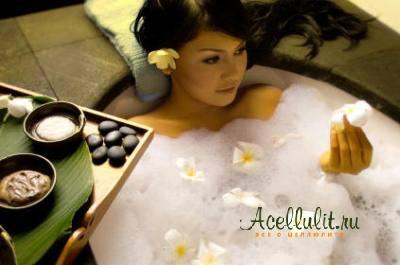 ванны для избавления от апельсиновой корки