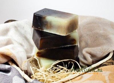 антицеллюлитное мыло  в домашних условиях
