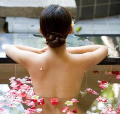 расслабляющая ванна для тела