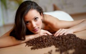 Использование кофейного скраба