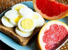 Яично-цитрусовая диета