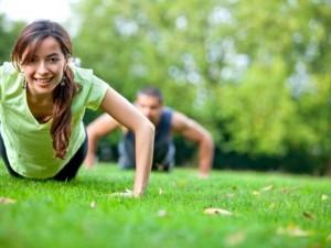 Усложнение комплекса упражнений